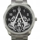 Assassin's Creed Logo Unisex Sport Metal Watch