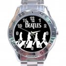 The Beatles Abbey Road Zebra Crossing Stainless Steel Analogue Watch