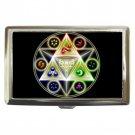 Legend Of Zelda High Quality Silver Chrome Cigarette Money/ Credit Card Case