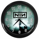 "Nine Inch Nail NIN Black Plastic Frame 10"" Wall Clock"