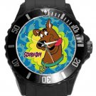 Cute Scooby Doo Unisex Round Plastic Sport Watch