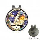 Grateful Dead-Cosmic High Quality Metal Chrome Golf Ball Hat Clip