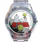 60th Anniversary Peanuts Stainless Steel Analogue Watch