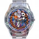 Nightmare Before Christmas Stainless Steel Analogue Watch
