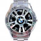 BMW M Series Tyres Stainless Steel Analogue Watch