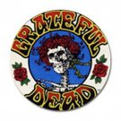 Grateful Dead & Roses High Quality Metal Chrome 4 Golf Ball Marker