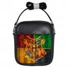 Harry Potter Hogwart Crests Unisex Genuine Leather Sling Bag