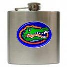 Florida Gators football 6 oz Stainless Steel Hip Flask