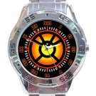 Orange Lantern Corps Stainless Steel Analogue Watch