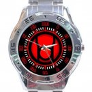 Red Lantern Corps Stainless Steel Analogue Watch