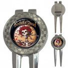 The best Of Grateful Dead High Quality Metal Chrome 3-in-1 Golf Divot