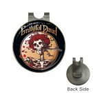 The best Of Grateful Dead High Quality Metal Chrome Golf Ball Hat Clip