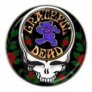 Grateful Dead Heavy Metal Bear High Quality Metal Chrome Hat Clip Ball Marker (4 pack)