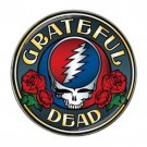 Grateful Dead Roses High Quality Metal Chrome Hat Clip Ball Marker (4 pack)