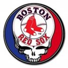 Grateful Dead Boston Red Sox High Quality Metal Chrome 4 Golf Ball Marker