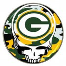 Grateful Dead Green Bay Packers High Quality Metal Chrome Hat Clip Ball Marker (4 pack)