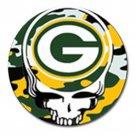 Grateful Dead Green Bay Packers High Quality Metal Chrome 4 Golf Ball Marker