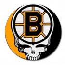 Grateful Dead Boston Bruins High Quality Metal Chrome 4 Golf Ball Marker