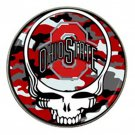 Grateful Dead Ohio State High Quality Metal Chrome Hat Clip Ball Marker (4 pack)