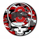 Grateful Dead Ohio State High Quality Metal Chrome 4 Golf Ball Marker
