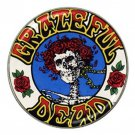 Grateful Dead Skull With Roses High Quality Metal Chrome Hat Clip Ball Marker (4 pack)