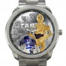 Star Wars RD2D & CP30 Unisex Sport Metal Watch