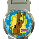Scooby-Doo Cartoon Stainless Steel Money Clip Watch