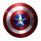 Captain America Shield Rubber Round Coaster (4 pack)