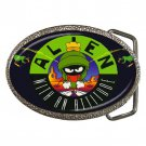 Marvin the Martian Cartoon Character High Quality Metal Chrome Belt Buckle