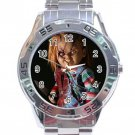 Chucky Child's Play Movie Stainless Steel Analogue Watch