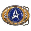 Star Trek United Federation PLanets High Quality Metal Chrome Belt Buckle
