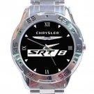 Chrysler 300C SRT8 Logo Stainless Steel Analogue Watch