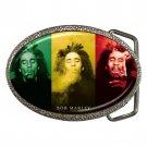 Bob Marley High Quality Metal Chrome Belt Buckle