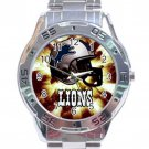 Detroit Lions Stainless Steel Analogue Watch