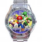 Super Mario Stainless Steel Analogue Watch