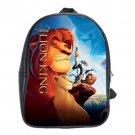 Hakuna Matata The Lion King School Leather Backpacks Notebook Bags