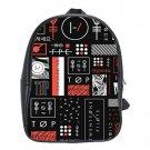 Twenty-One Pilots  School Leather Backpacks Notebook Bags