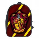 Gryffindor Crest Harry Potter School Leather Backpacks Notebook Bags