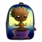 Guardians of the Galaxy Vol. 2 Baby Groot Genuine Leather School Bag (Large)