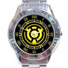 Yellow Sinestro Stainless Steel Analogue Watch