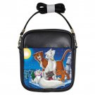 The Aristocats Movie Unisex Genuine Leather Sling Bag