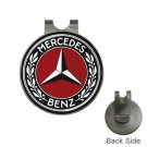 Mercedes Benz High Quality Metal Chrome Golf Ball Hat Clip