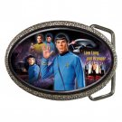 Star Trek Spock High Quality Metal Chrome Belt Buckle
