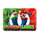 Mario & Luigi Super Mario Small Doormat- Machine Washable