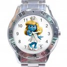 Smurfette Stainless Steel Analogue Watch