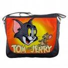Tom And Jerry Unisex School Messenger Bag Shoulder Notebook Travel Bags