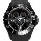 BMW-M Performance Electronic Steering Wheel Black Round Plastic Sport Watch