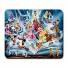 """All Disney Characters 9.25"""" x 7.75 Large Rectangular Durable Heat-Resistant Mouse Pad"""