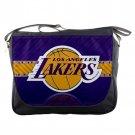 Los Angeles Lakers Basketball Team Unisex School Messenger Bag Shoulder Notebook Travel Bags
