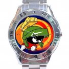 Marvin The Martian Stainless Steel Analogue Watch